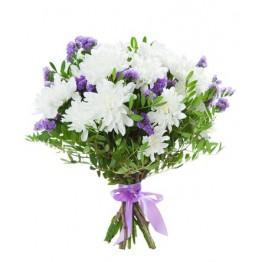 Букет з 3 сортів квітів