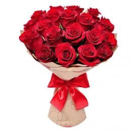 15 троянд 60-70 см