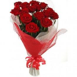 15 троянд 80 см