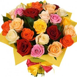 25 троянд 50 см