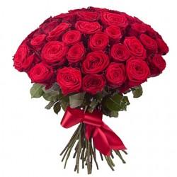 25 троянд 80 см
