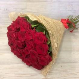 29 троянд 60-70 см