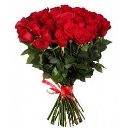 31 троянда 60-70 см