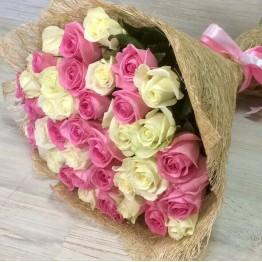 39 троянд 50 см