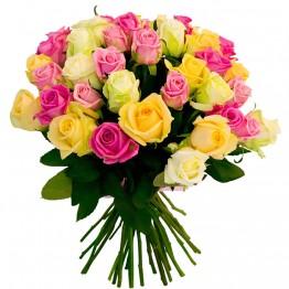 39 троянд 60-70 см