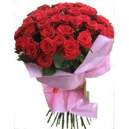 45 троянд 80 см