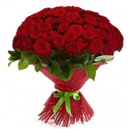 51 троянда 50 см
