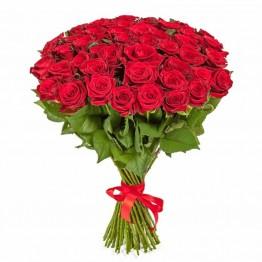 51 троянда 1 метр