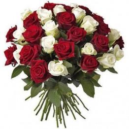 55 троянд 50 см