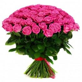 75 троянд 80 см
