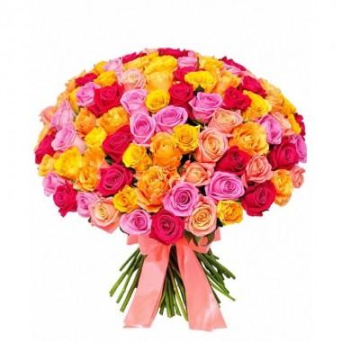 91 троянда 60-70 см