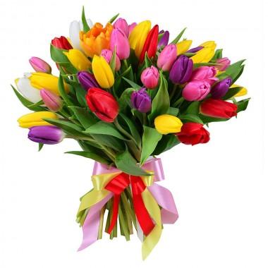 Букет з 31 тюльпана